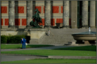 Berlin, Altes Museum am morgen